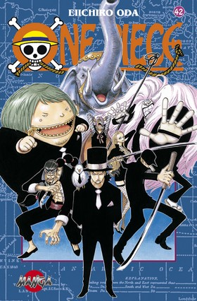 One Piece 42 - Piraterna mot CP9