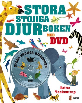 Stora stojiga djurboken + DVD