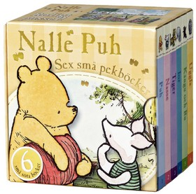 Nalle Puh - Sex små pekböcker