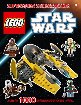 LEGO Star Wars Superstora stickersboken