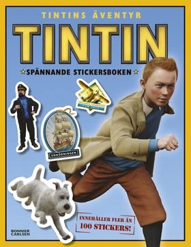 Tintins äventyr - Spännande stickersboken