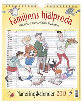 Familjens hjälpreda - planeringskalender 2013