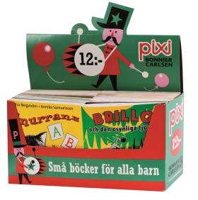 Pixi säljförpackning serie 209
