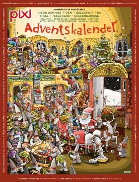 Pixi adventskalender - Kjell Thorsson