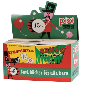 Pixi säljförpackning serie 221