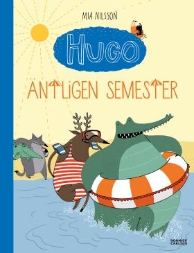 Hugo Äntligen semester!