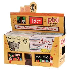 Pixi säljförpackning serie 220