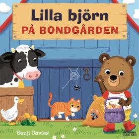 Lilla björn på bondgården