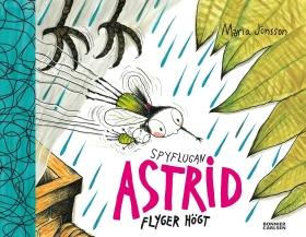 Spyflugan Astrid flyger högt