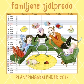 Familjens hjälpreda - Planeringskalender 2017