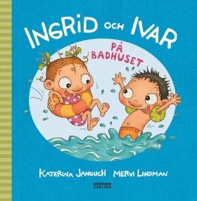 Ingrid och Ivar på badhuset