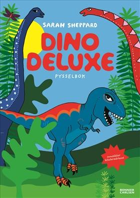 Dino deluxe – pysselbok med klistermärken