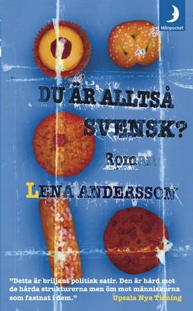 Du är alltså svensk?