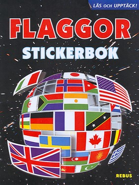 Flaggor stickerbok