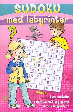 Sudoku med labyrinter (röd)