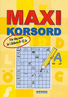 Maxi korsord
