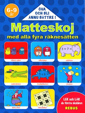 60193: Matteskoj med alla fyra räknesätten