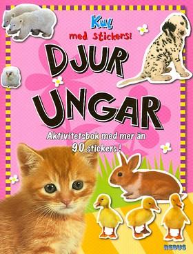 Djurungar - Kul med stickers!