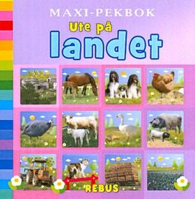Maxi-pekbok Ute på landet