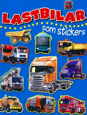 Lastbilar som stickers