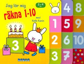 10537: Jag lär mig räkna 1-10 med Kalle Kanin