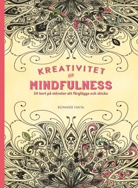 Kreativitet och mindfulness - 24 kort på inspirerande mönster att färglägga och skicka