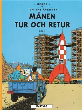 Tintins äventyr, Månen tur och retur del 1