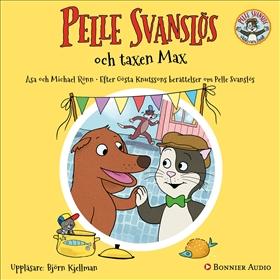 Pelle Svanslös och taxen Max
