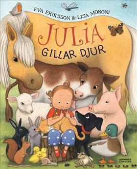Julia gillar djur