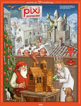 Pixi adventskalender – Jan Lööf