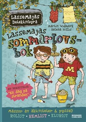 LasseMajas sommarlovsbok: En dag på stranden