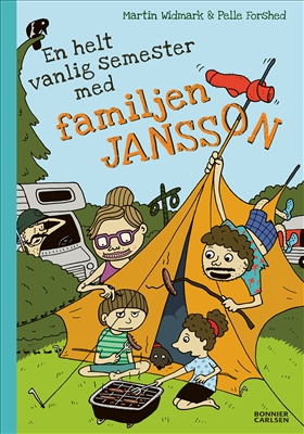 En helt vanlig semester med familjen Jansson