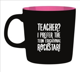 Kaffemugg - Teacher? I prefer the term Educational Rockstar!