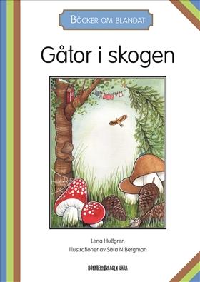 Böcker om blandat - Gåtor i skogen, 5-pack