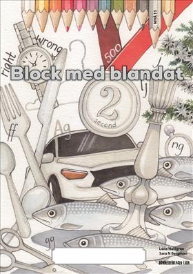 Block med blandat 11 - silver, 5-pack
