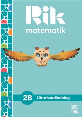 Testversion Rik matematik 2 B Lärarhandledning, bok + digitala resurser