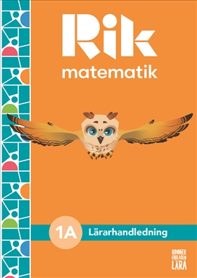 Rik matematik 1 A Lärarhandledning, bok + digitala resurser