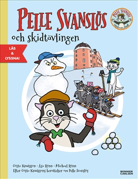 Pelle Svanslös och skidtävlingen (e-bok + ljud)
