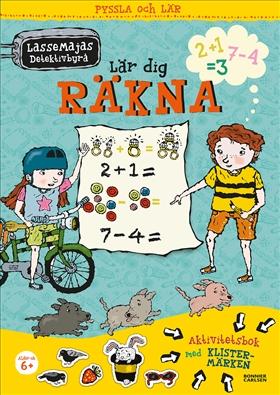 LasseMajas detektivbyrå lär dig räkna
