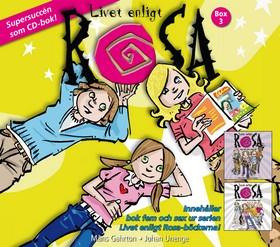 Ljudbok Livet enligt Rosa Box 3 (Bok 5-6)