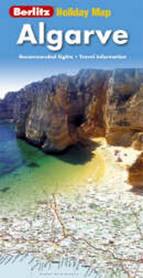 Holiday map Algarve