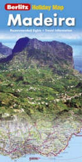 Holiday map Madeira