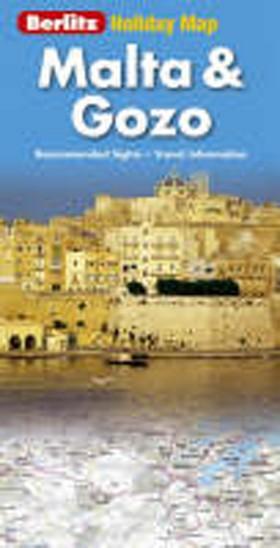 Holiday map Malta & Gozo