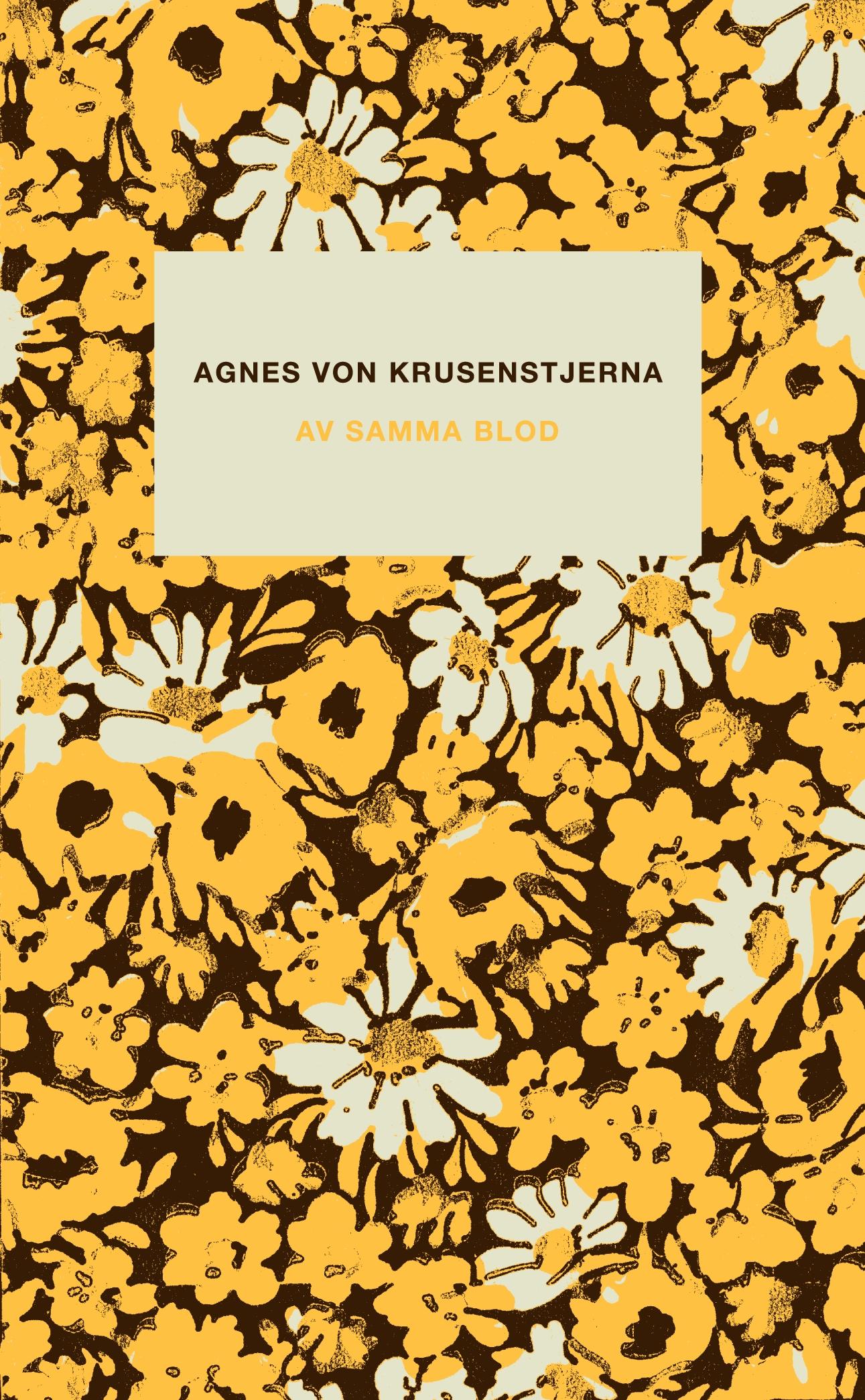 Image result for Agnes von Krusenstjerna: Av samma blod.