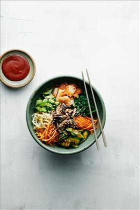 Kimchi & kombucha